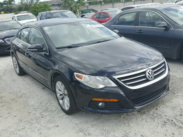 WVWMN7AN6AE549681 - 2010 VOLKSWAGEN CC SPORT BLACK photo 1