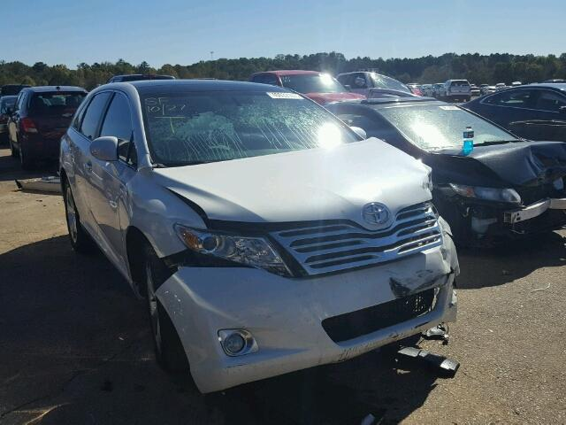 4T3ZK11A79U011214 - 2009 TOYOTA VENZA WHITE photo 1
