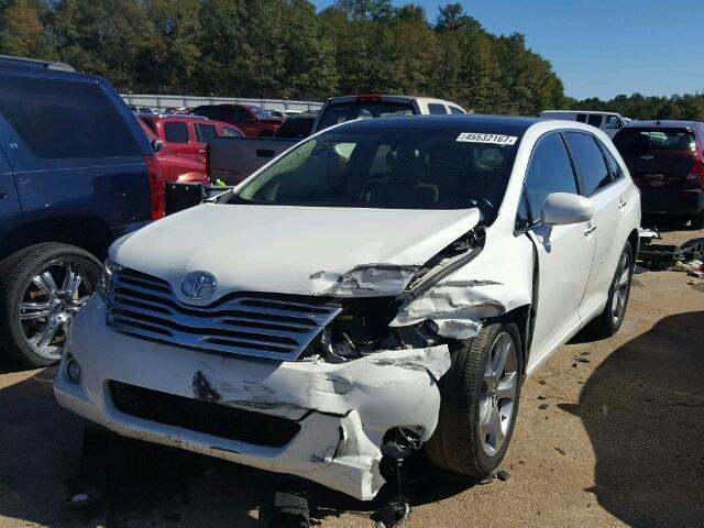 4T3ZK11A79U011214 - 2009 TOYOTA VENZA WHITE photo 2