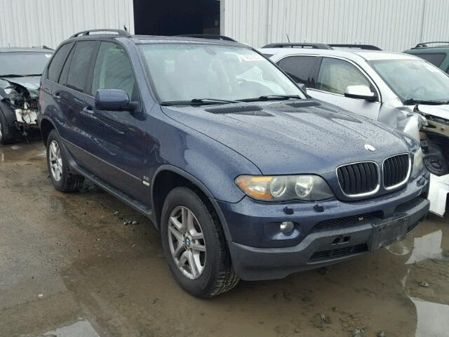 5UXFA13525LY12876 - 2005 BMW X5 3.0I, BLUE - price history, history ...