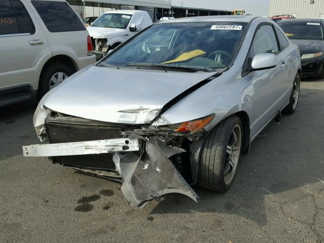 2HGFG11836H563792 - 2006 HONDA CIVIC EX SILVER photo 2