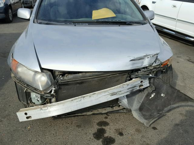 2HGFG11836H563792 - 2006 HONDA CIVIC EX SILVER photo 9