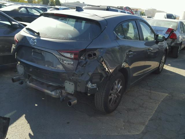 3MZBM1L79FM155015 - 2015 MAZDA 3 TOURING GRAY photo 4