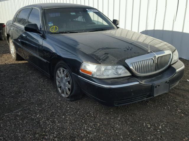2LNBL8CV6BX750735 - 2011 LINCOLN TOWN CAR S BLACK photo 1