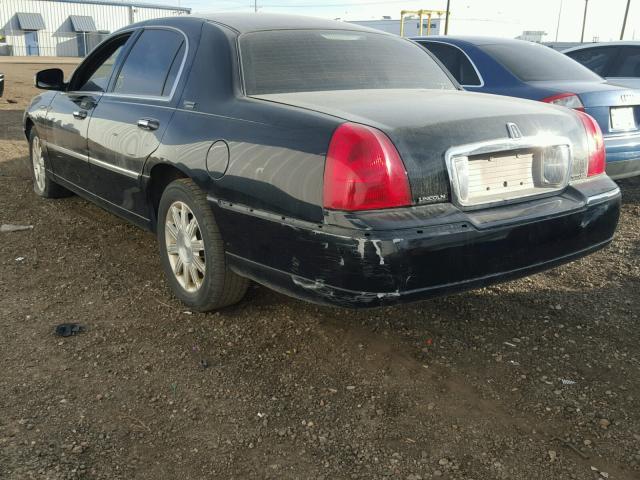 2LNBL8CV6BX750735 - 2011 LINCOLN TOWN CAR S BLACK photo 3
