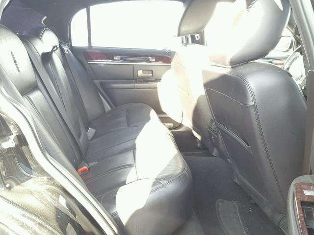 2LNBL8CV6BX750735 - 2011 LINCOLN TOWN CAR S BLACK photo 6