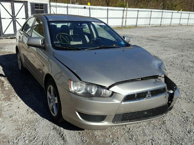 JA3AU26U58U028068 - 2008 MITSUBISHI LANCER ES GOLD photo 1