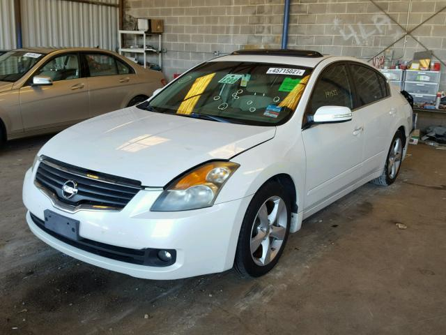 1N4BL21E47N453837 - 2007 NISSAN ALTIMA 3.5 WHITE photo 2
