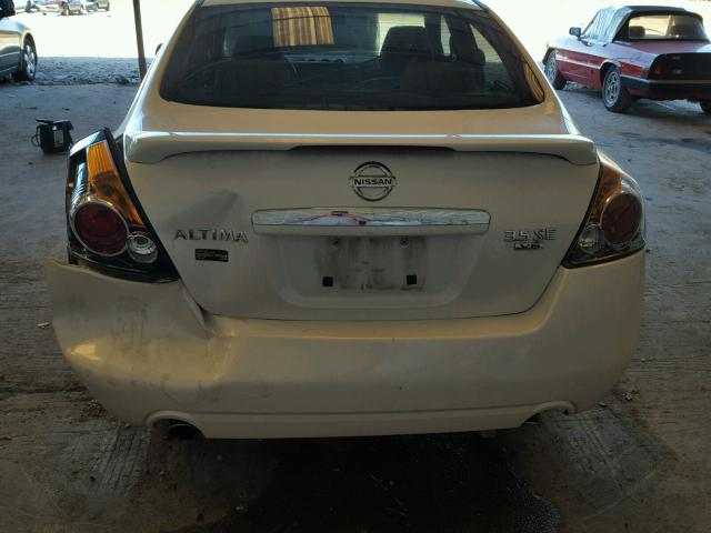 1N4BL21E47N453837 - 2007 NISSAN ALTIMA 3.5 WHITE photo 9