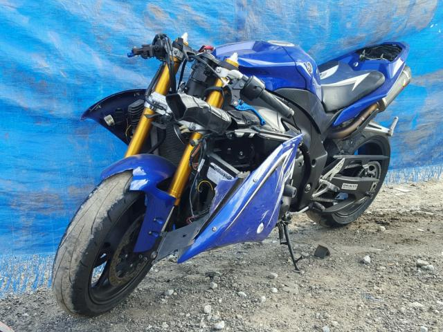 JYARN23E49A002199 - 2009 YAMAHA YZFR1 BLUE photo 2