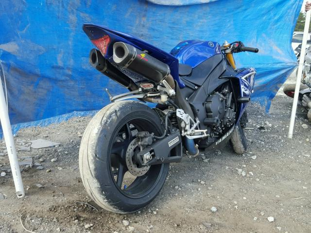 JYARN23E49A002199 - 2009 YAMAHA YZFR1 BLUE photo 4