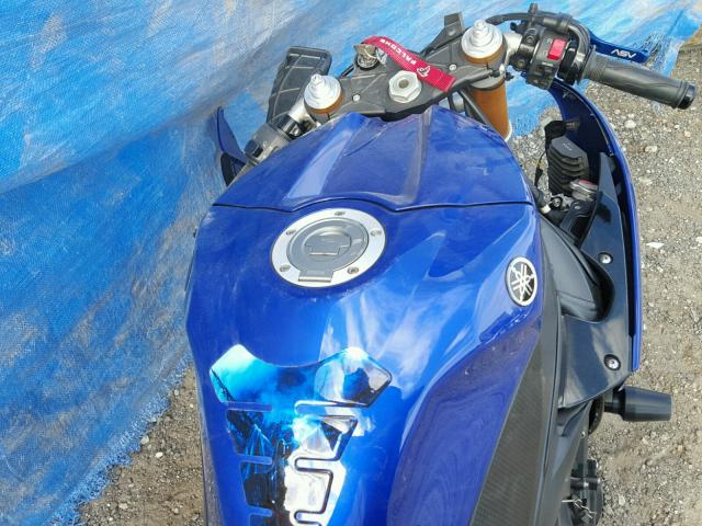 JYARN23E49A002199 - 2009 YAMAHA YZFR1 BLUE photo 5