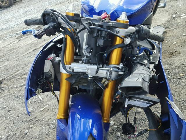 JYARN23E49A002199 - 2009 YAMAHA YZFR1 BLUE photo 9