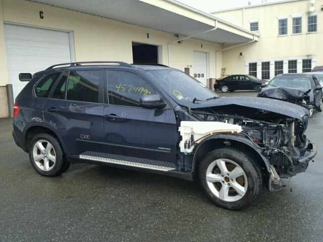 5UXFE43569L271083 - 2009 BMW X5 XDRIVE3 BLUE photo 9