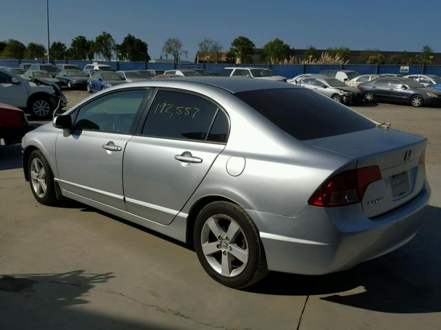 JHMFA168X7S008453 - 2007 HONDA CIVIC EX GRAY photo 3
