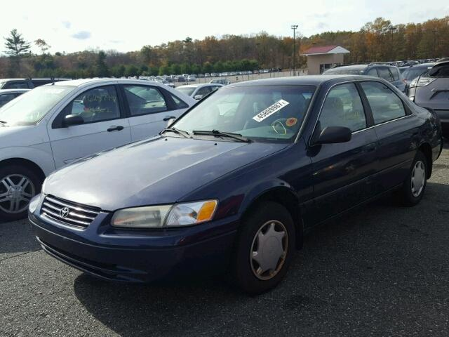 4T1BG22K8XU477563 - 1999 TOYOTA CAMRY BLUE photo 2
