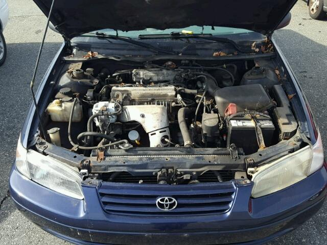 4T1BG22K8XU477563 - 1999 TOYOTA CAMRY BLUE photo 7