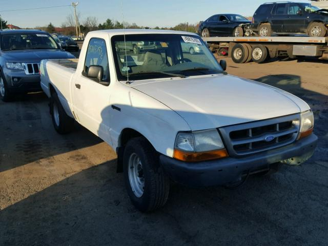 1FTYR10V8YTB10072 - 2000 FORD RANGER WHITE photo 1