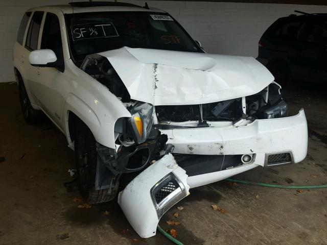 1GNET13H772309099 - 2007 CHEVROLET TRAILBLAZE WHITE photo 1