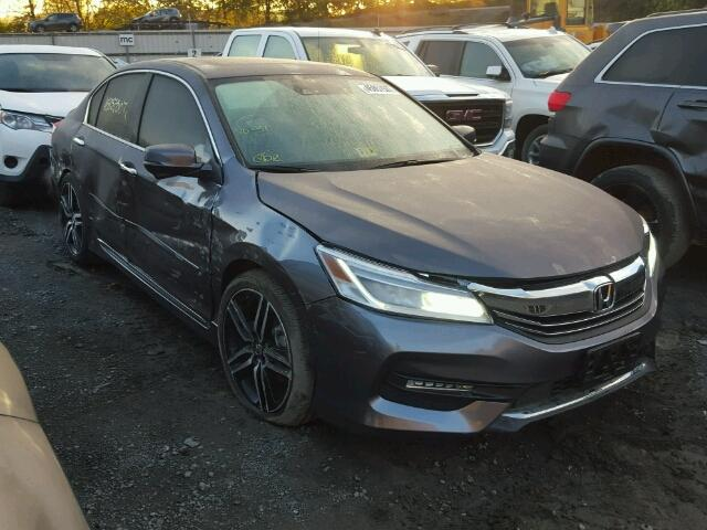 1HGCR3F91HA027936 - 2017 HONDA ACCORD CHARCOAL photo 1