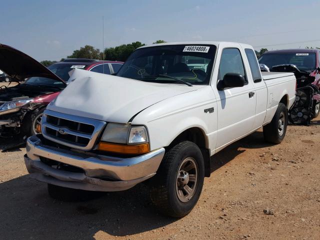 Ford Ranger Salvage Value: 2000 FORD RANGER SUP, WHITE