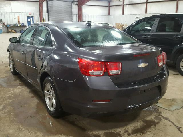 1G11B5SA8DF185475 - 2013 CHEVROLET MALIBU LS GRAY photo 3