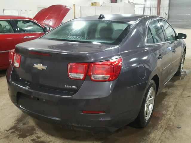 1G11B5SA8DF185475 - 2013 CHEVROLET MALIBU LS GRAY photo 4