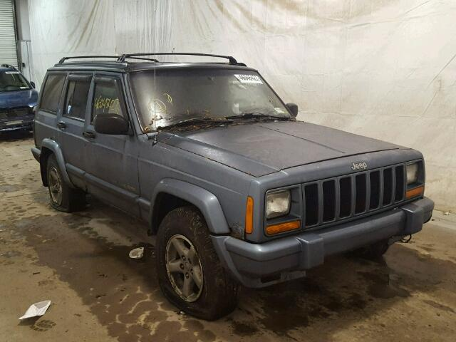 1J4FJ68S1WL132847 - 1998 JEEP CHEROKEE S GRAY photo 1