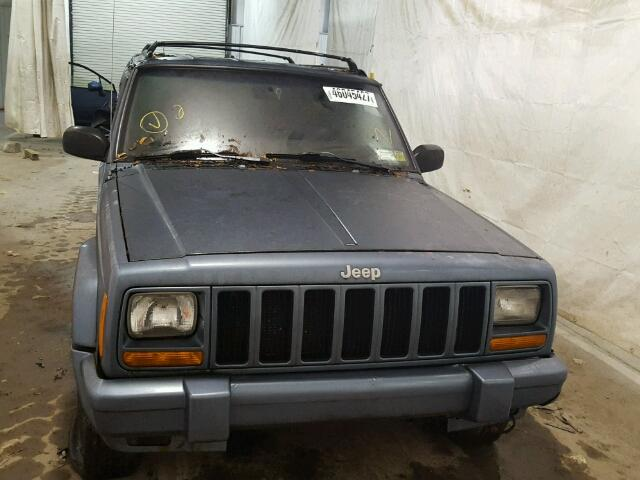 1J4FJ68S1WL132847 - 1998 JEEP CHEROKEE S GRAY photo 10