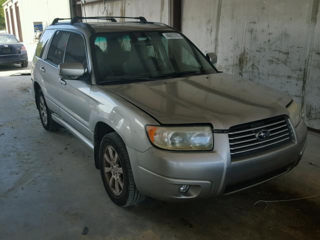 JF1SG65626H724745 - 2006 SUBARU FORESTER SILVER photo 1