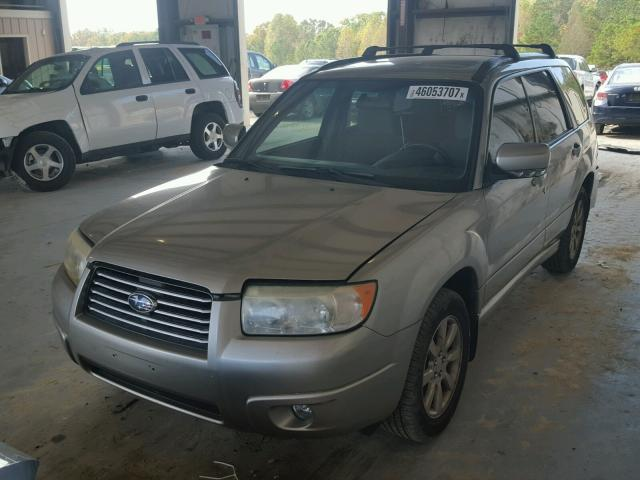 JF1SG65626H724745 - 2006 SUBARU FORESTER SILVER photo 2