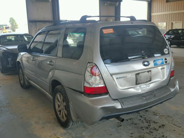 JF1SG65626H724745 - 2006 SUBARU FORESTER SILVER photo 3