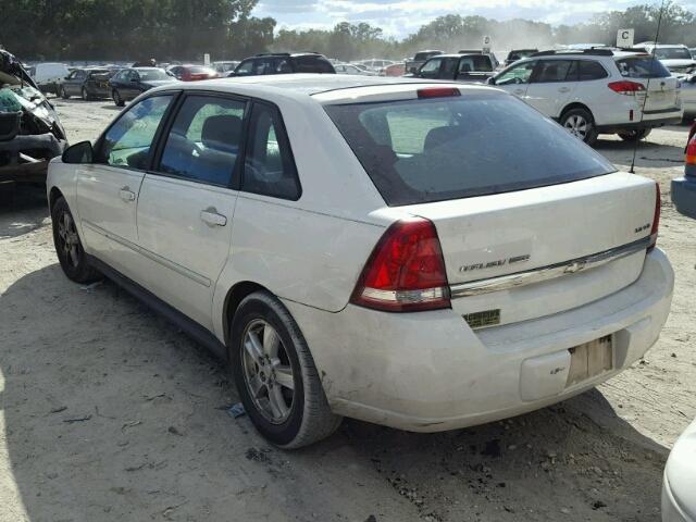 1G1ZT62845F193626 - 2005 CHEVROLET MALIBU WHITE photo 3