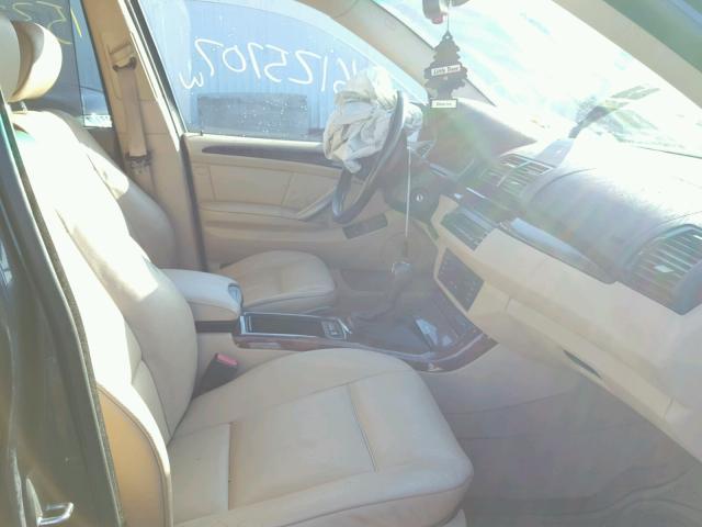 5UXFA13506LY48521 - 2006 BMW X5 3.0I BLUE photo 5
