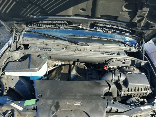 5UXFA13506LY48521 - 2006 BMW X5 3.0I BLUE photo 7