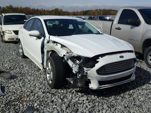 3FA6P0G7XGR 2016 FORD FUSION S WHITE price history