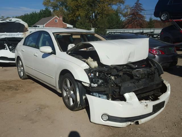 1N4BA41E74C906714 - 2004 NISSAN MAXIMA SE WHITE photo 1