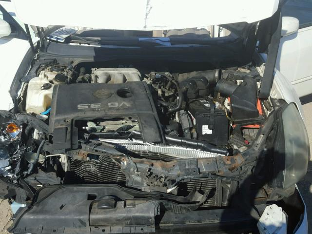 1N4BA41E74C906714 - 2004 NISSAN MAXIMA SE WHITE photo 7