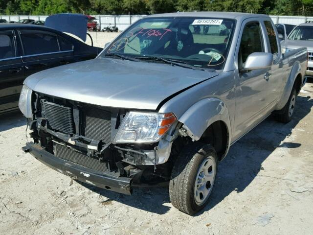 1N6BD0CT3CC459199 - 2012 NISSAN FRONTIER SILVER photo 2