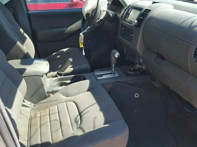 1N6BD0CT3CC459199 - 2012 NISSAN FRONTIER SILVER photo 5