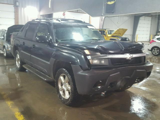 3GNEK12Z55G251110 - 2005 CHEVROLET AVALANCHE GRAY photo 1