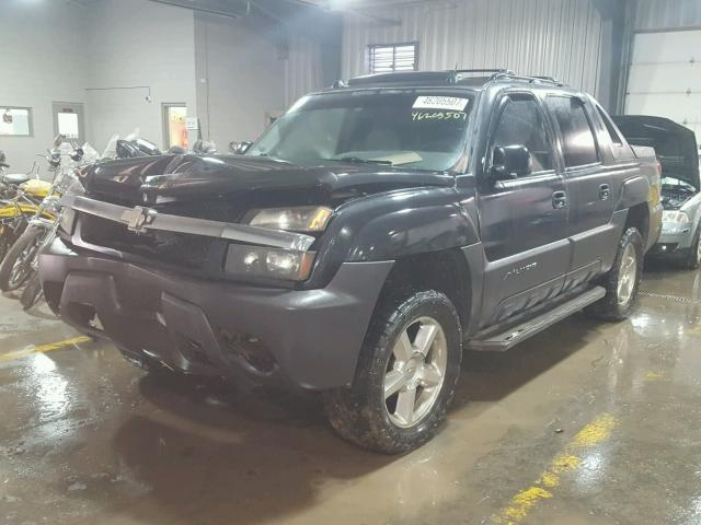 3GNEK12Z55G251110 - 2005 CHEVROLET AVALANCHE GRAY photo 2