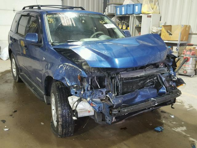 1FMCU59H78KE18770 - 2008 FORD ESCAPE HEV BLUE photo 1