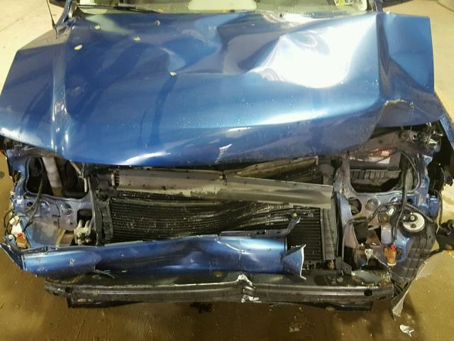 1FMCU59H78KE18770 - 2008 FORD ESCAPE HEV BLUE photo 7