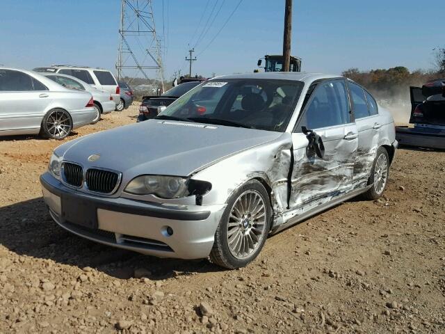 WBAEV53422KM23637 - 2002 BMW 330 I SILVER photo 2