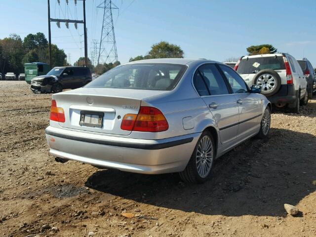WBAEV53422KM23637 - 2002 BMW 330 I SILVER photo 4