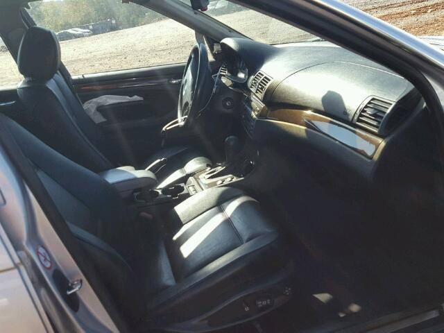 WBAEV53422KM23637 - 2002 BMW 330 I SILVER photo 5