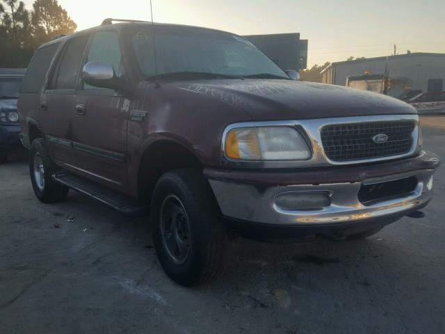 1FMEU18W3VLC04334 - 1997 FORD EXPEDITION BURGUNDY photo 1