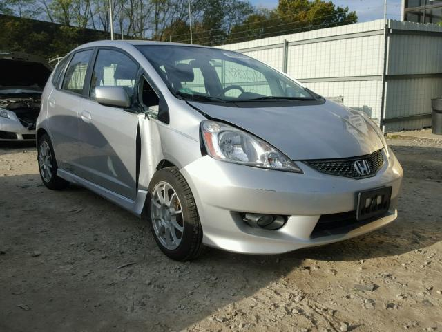 JHMGE8H56BC011213 - 2011 HONDA FIT SILVER photo 1