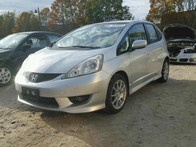 JHMGE8H56BC011213 - 2011 HONDA FIT SILVER photo 2